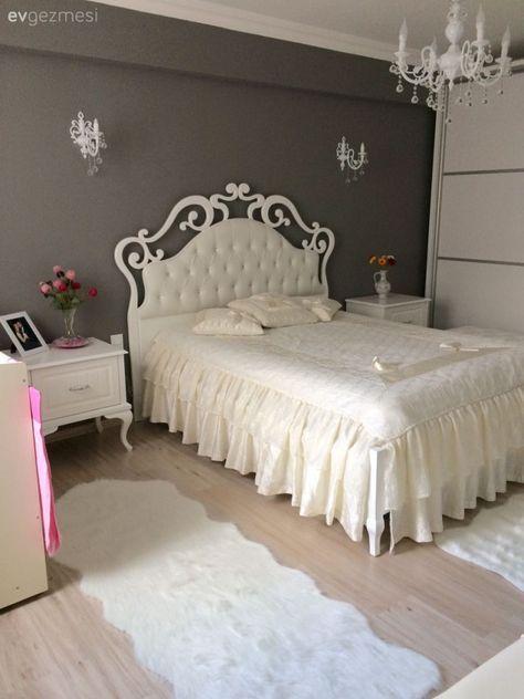 الألوان العصرية تزين غرف النوم غرفة-بسيطة.