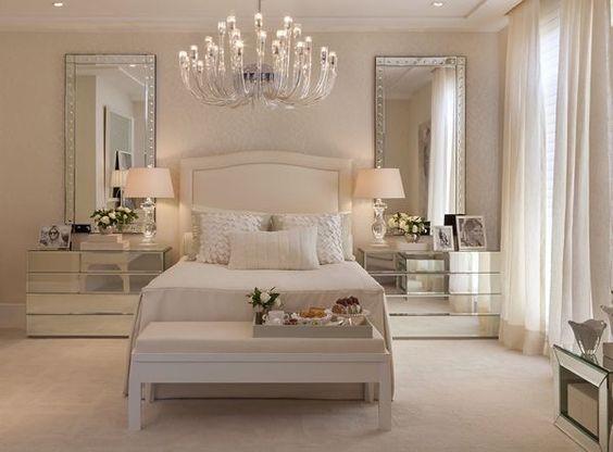 الألوان العصرية تزين غرف النوم غرفة-بيج-بم