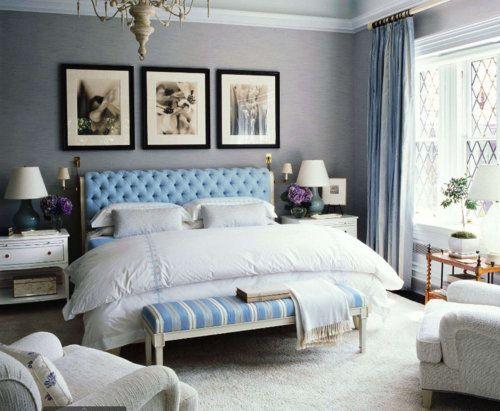 الألوان العصرية تزين غرف النوم غرفة-تركوا�