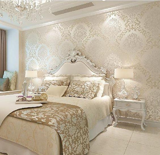 الألوان العصرية تزين غرف النوم غرفة-سكري-و