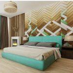 الظهر المبطن موضة تصاميم غرف النوم