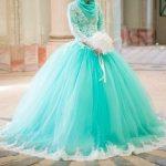فساتين الخطوبة للعروس المحجبة
