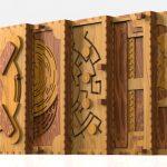 """"""" كوديكس سيلندا """" كتاب الألغاز الخشبي"""