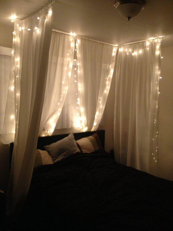 تصاميم رومانسية لغرف نوم حديثة ناموسية-مض�
