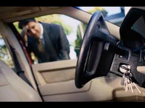 كيفية فتح السيارة بدون مفتاح وقت الطوارئ المرسال