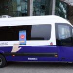 حافلات تحت الطلب لمدينة دبي للإعلام