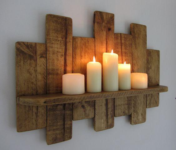 استخدام الألواح الخشبية في الديكور ستاند-للشم�