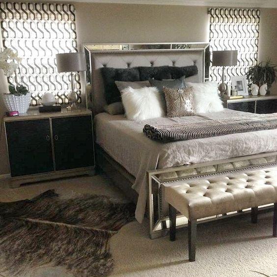 اجمل ديكورات سرير-بمراية.jpg