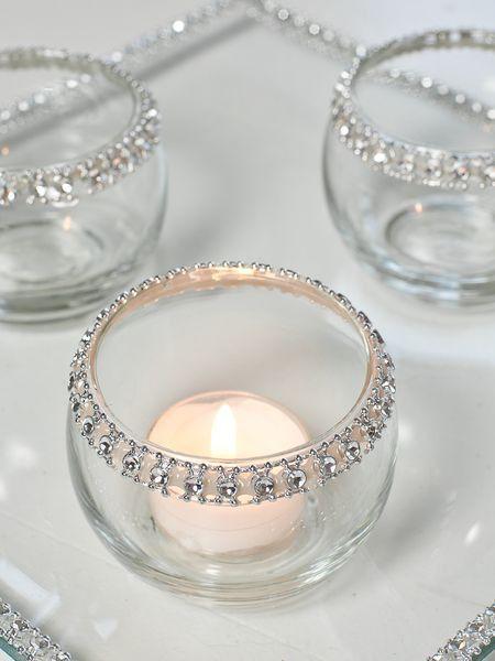 حاملات للشموع شمعدان-بفص�