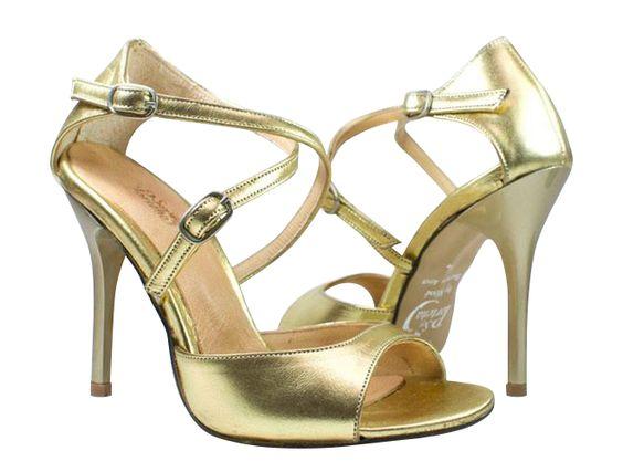 الأحذية النسائية الذهبية موضة 2018 صندل-بكعب-ر