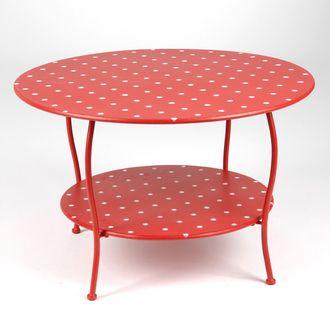 الشكل المنقط يحتل الديكورات المنزلية طاولة.jpg