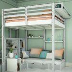 غرف نوم أطفال متكاملة للمساحات الصغيرة
