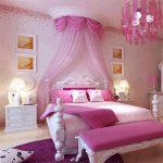 ديكورات منزلية حديثة باللون الوردي الرقيق