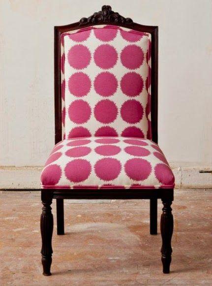 الشكل المنقط يحتل الديكورات المنزلية كرسي-سفرة.jp