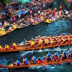 نبذة عن مهرجان قوارب التنين في الصين بالصور