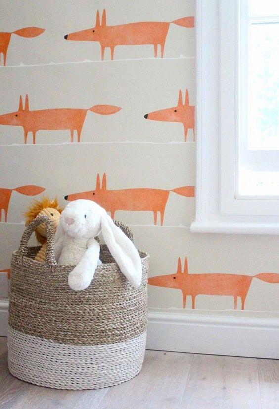 تصاميم مميزة لورق الحائط ثلاثي ورق-حيوانا�