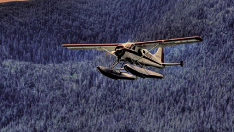4 أفكار رائعة في رحلتك إلى ألاسكا الطيران-إل�