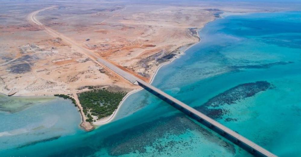 جسر المعادي أول جسر بحري بالمملكة المرسال