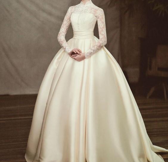 188d16983 فستان باكمام جيبير | المرسال