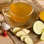الفوائد الصحية لشاي الثوم