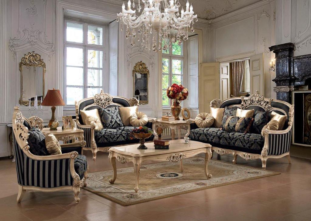 7c48f5eec تصاميم غاية في الفخامة لغرفة الصالون الكلاسيكية - ☆○°• مملكة عذب ...