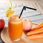 عصير الجزر والتفاح والرمان لزيادة الهيموجلوبين وإنقاص الوزن
