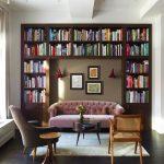 ديكورات جديدة و تصاميم لغرفة المطالعة المنزلية