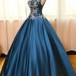 فستان-خطوبة-بترولي-م