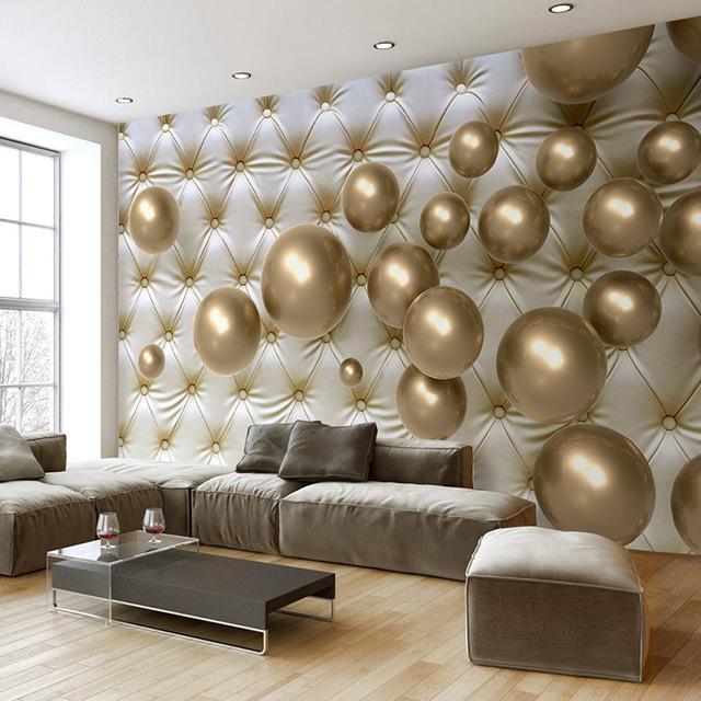 ديكورات مودرن أكثر أناقة باللون الذهبي-في-ورق-حائط.j