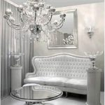 اللون الفضي لجمال ديكورات المنزل الحديث