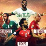 الدول العربية وما حققته بكأس العالم 2018 بالارقام