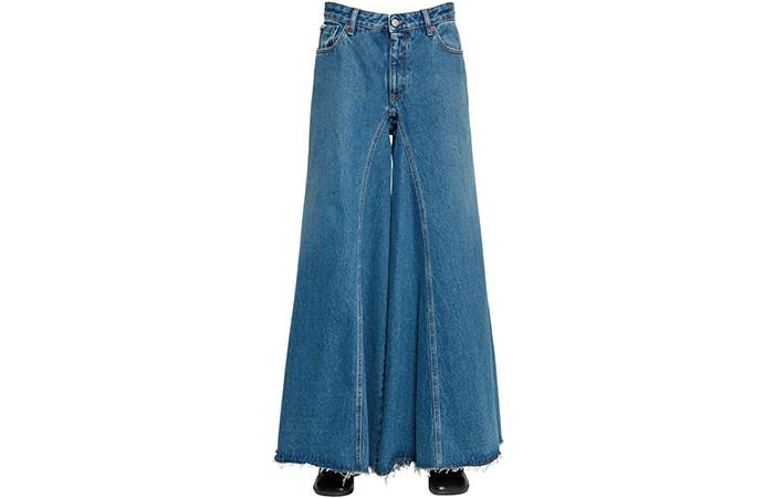 بنطلون للمحجبات جينز