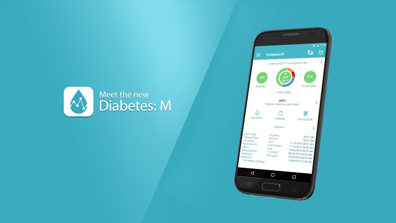 77e8d7cdd ... إدارة مرض السكري عن طريق حساب نسب الأنسولين، ويمكن ضبط التذكيرات لفحص  سكر الدم أو وقت التمرين، وهذا التطبيق مجاني ويتوافق مع أجهزة الأندرويد  والآيفون .