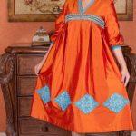 جلاليب البيت بأشكال عصرية لأناقة المرأة المتألقة