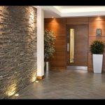 صور أشكال الحوائط الحجرية المميزة للديكور الداخلي حائط-حجري-بإضاءات-15