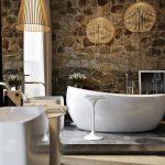 صور أشكال الحوائط الحجرية المميزة للديكور الداخلي حائط-حجري-للحمام-150