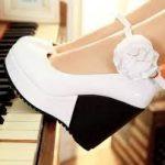 c51cf6b52 ... حذاء بكعب باللون الابيض و اسود - 678652 ...