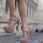 0eeacfa65 ... حذاء بكعب باللون الكافيه - 678663 ...