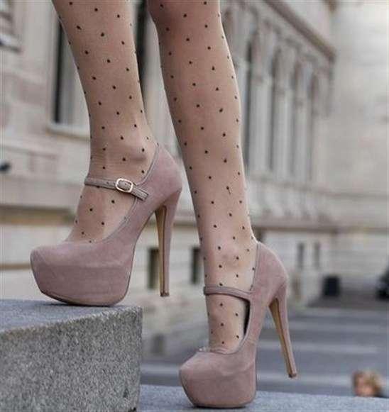 b216681f1 حذاء بكعب باللون الكافيه   المرسال