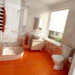 صور تصاميم مميزة و عصرية للحمام الصغير بالمنزل حمام-صغير-برتقالي-15