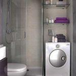 تصاميم مميزة و عصرية للحمام الصغير بالمنزل