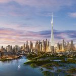 منطقة خور دبي و تفاصيل عن البرج المقام بها