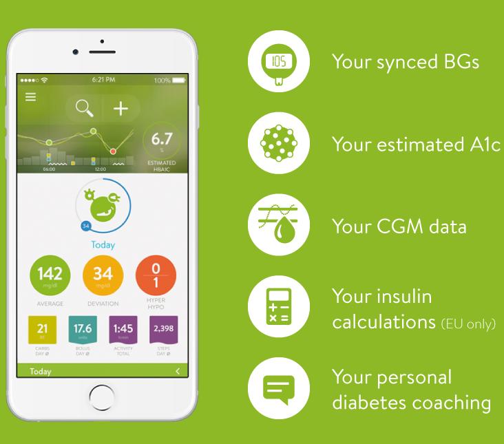 """643604586 8- بي جي مونيتور """" BG Monitor """" يمكن مراقبة نسبة الجلوكوز في الدم  والأنسولين واكتشف متى يحتاج الجسم إلى تعديلات مع تطبيق BG Monitor، ويقوم  التطبيق بحساب ..."""