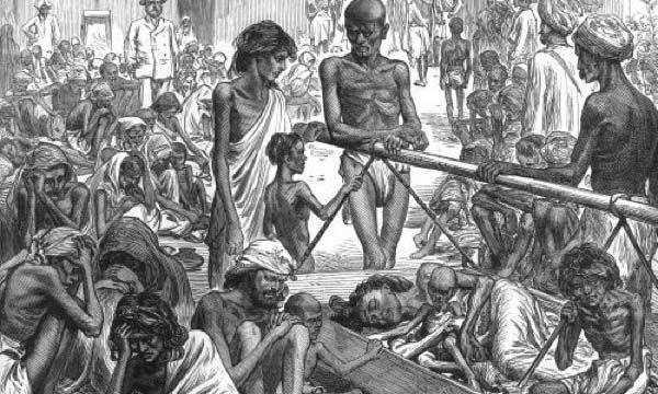 مجاعة الهند الكبرى