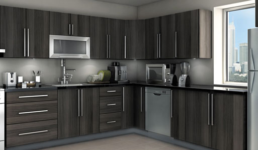 Grey Kitchen Ideas That Are Sophisticated And Stylish: مطبخ حديث باللون الرمادي