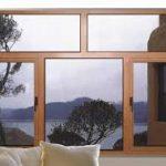 النوافذ الخشبية للديكورات الحديثة و الكلاسيكية للمنازل