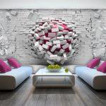 أشكال 2018 لأوراق الحائط تناسب المنزل الحديث