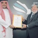 ستيف وزنياك سفير البوابة التقنية السعودية