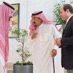 الملك سلمان يستقبل الرئيس السيسي في نيوم