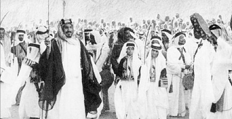 معركة روضة مهنا بقيادة المؤسس عبدالعزيز آل سعود المرسال